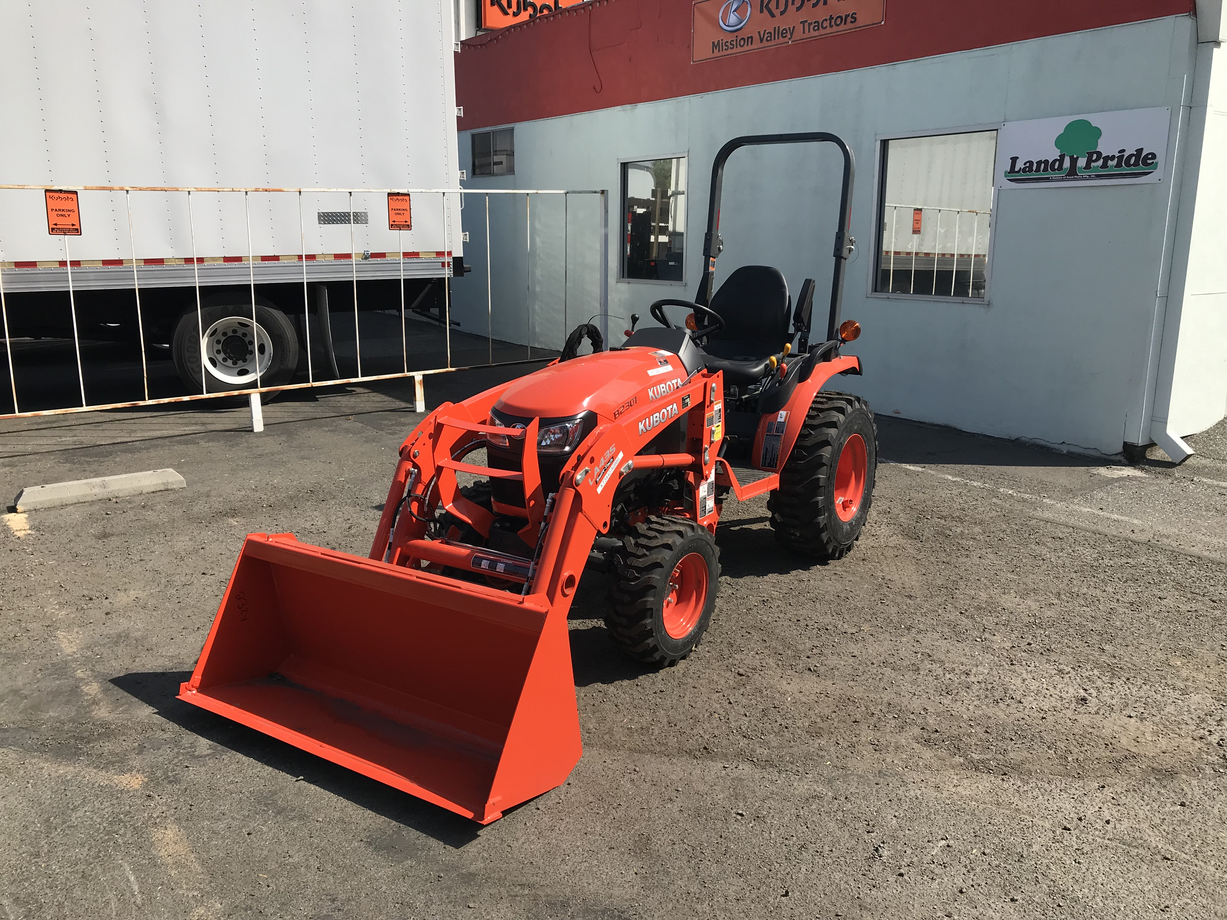 B2301 tractor