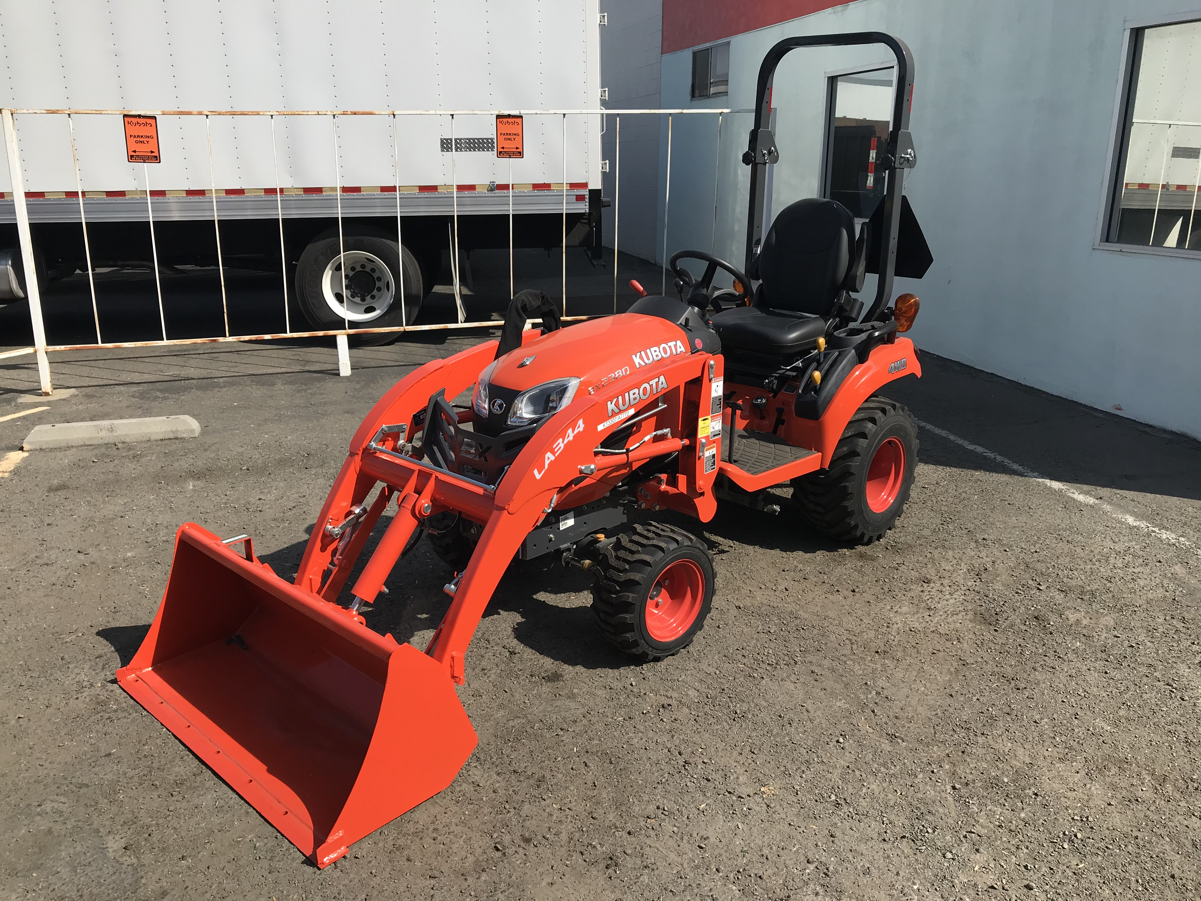 BX2380 tractor