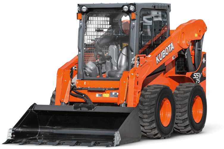 SSV65HF - Skid Steer Kubota tractors at Mission Valley Kubota Rental