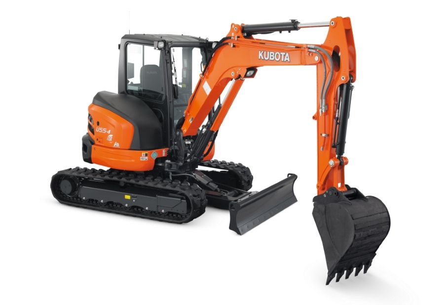 U55-4R1AP - U Series excavators in San Jose, CA | Mission Valley Kubota Rental