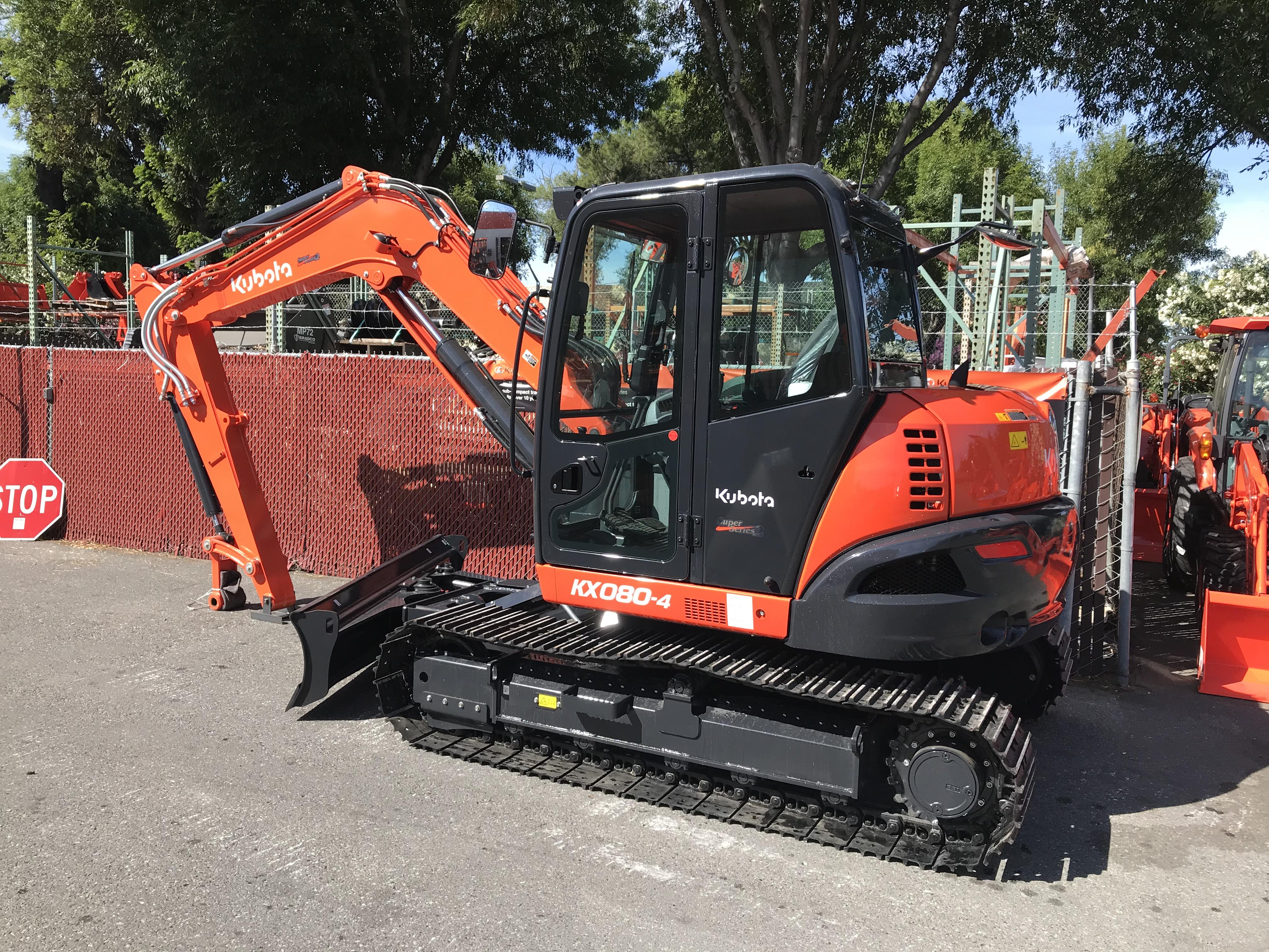 kx080 tractor
